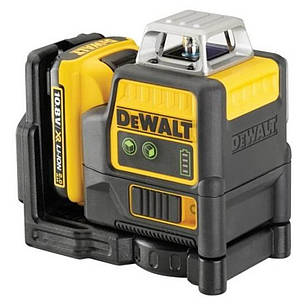Уровень лазерный линейный DeWALT DCE0811D1G, фото 2