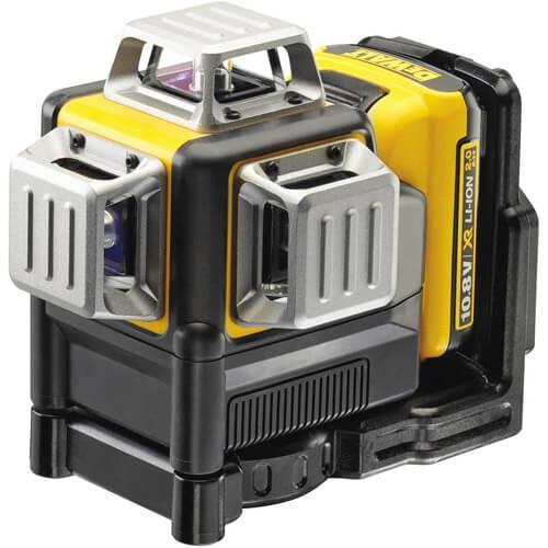 Уровень лазерный линейный DeWALT DCE089D1R