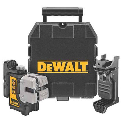 Уровень лазерный линейный DeWALT DW089K, фото 2