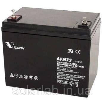 Аккумуляторная батарея Vision FM 12V 75Ah