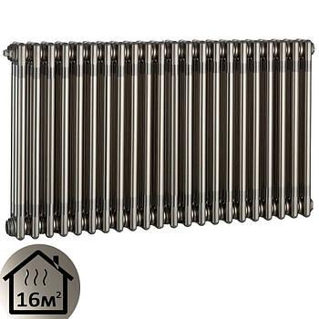 Дизайн-радиатор Charleston Retroit 22 секции (570х1036) серый нижнее подключение 1254Вт Zehnder