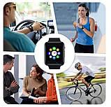 Смарт-часы (Smart Watch) Умные часы А1 Красные, фото 3