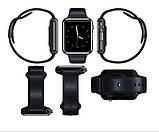 Смарт-часы (Smart Watch) Умные часы А1 Красные, фото 7