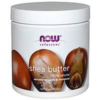 Олія ші NOW Foods Solutions Shea Butter 207 ml