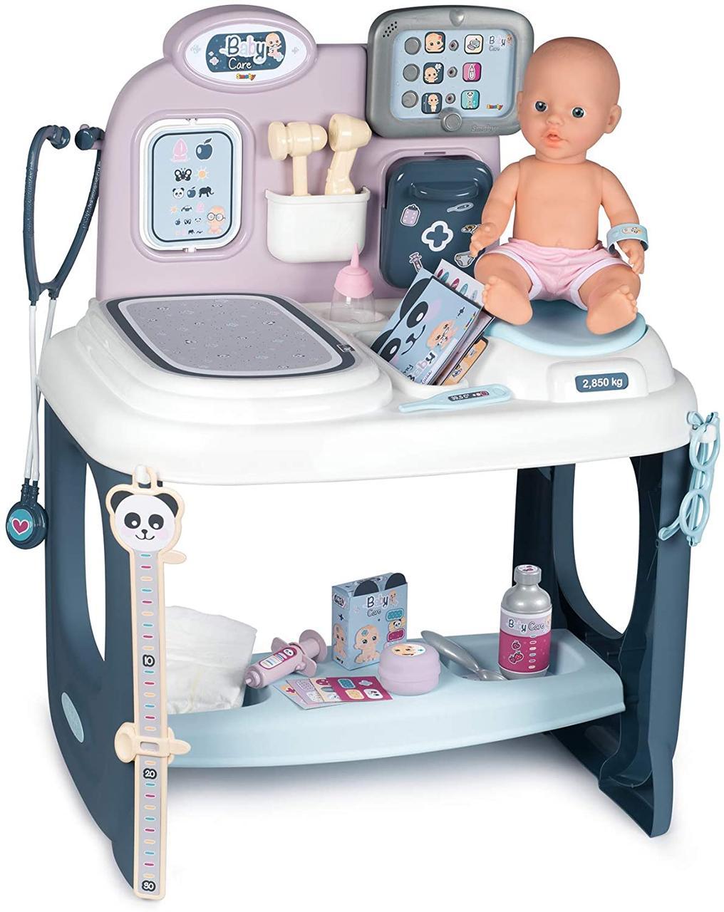Игровой центр Уход за куклой со звуковыми и световыми эффектами Smoby 240300