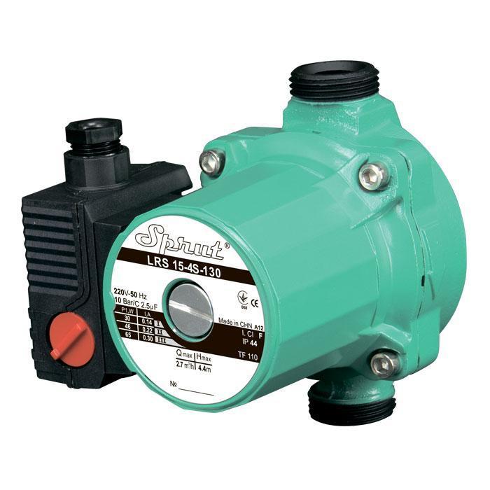 Циркуляционный насос Sprut LRS 15-6S-130 электронасос для отопления напор 6 м подача 2,7 м³/ч  мощность 100 Вт
