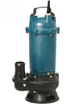 Дренажно-фекальный насос Насосы плюс Оборудование WQD 15-15-1,5 объемная подача 22,5 м³/ч 1600 Вт