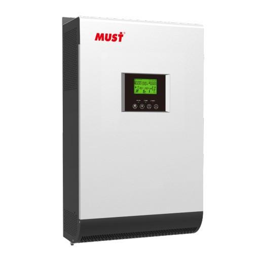 Инвертор автономный MUST PV1800 HM 5KVA/4KW 48V с MPPT-контроллером 80A