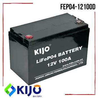 Аккумулятор Kijo FePO4-12100D Lithium Iron Phosphate литий железо фосфатный на 100А