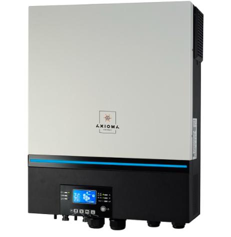 Инвертор автономный 7200Вт, 48В, AXIOMA ISMPPT BFP 7200 гибридный солнечный ИБП без АКБ
