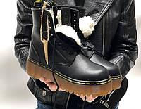 Жіночі зимові черевики Dr. Martens Jadon (Хутро). [Розміри в наявності: 37,38,39,40], фото 1