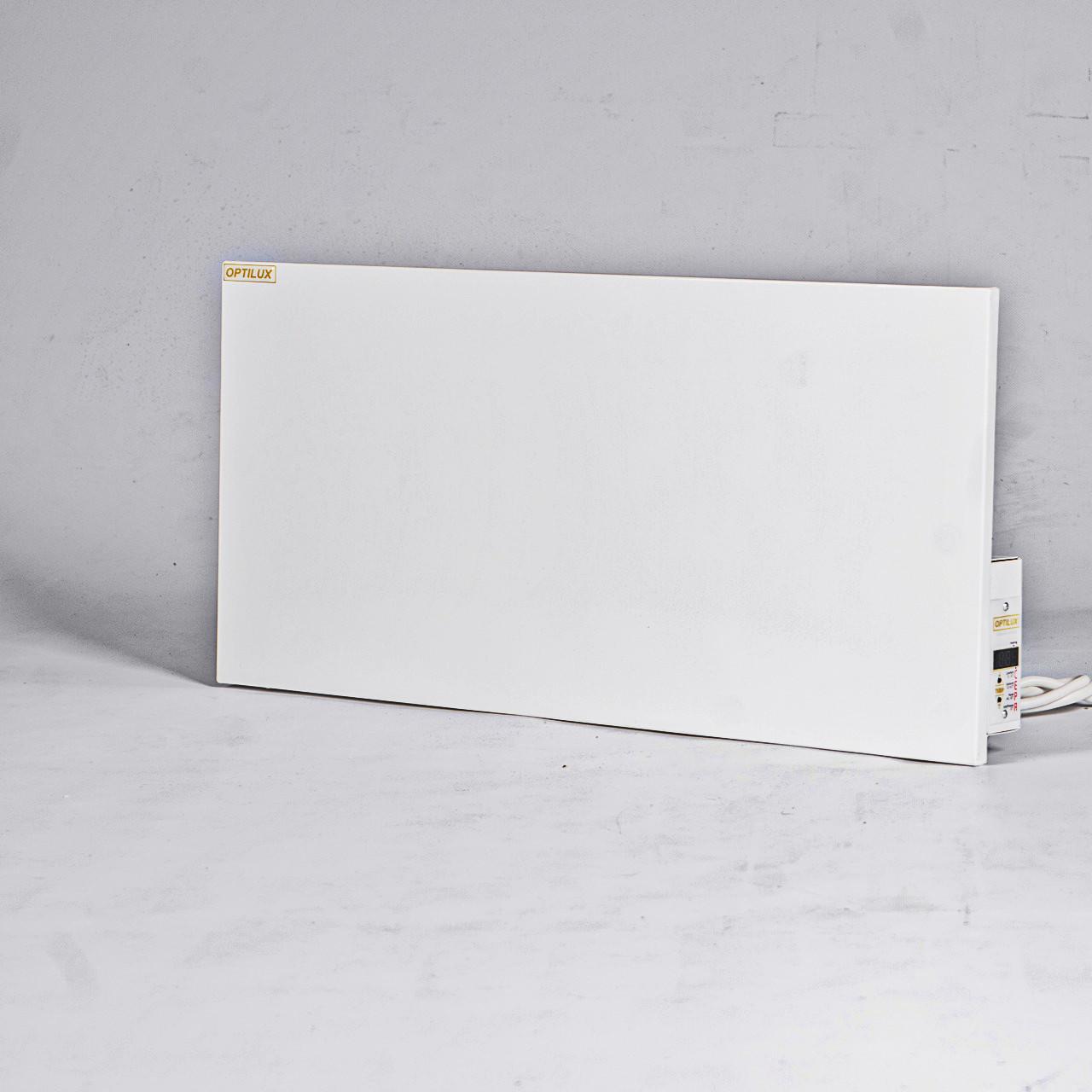 Optilux P300НВ до 8 м² Энергосберегающий металлический обогреватель с электронным терморегулятором (60х30 см)