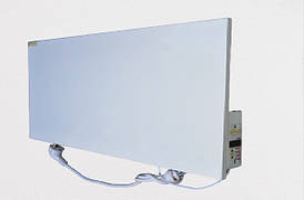 Optilux P300НВП до 8 м² Энергосберегающий металлический обогреватель с электронным программатором (60х30 см)