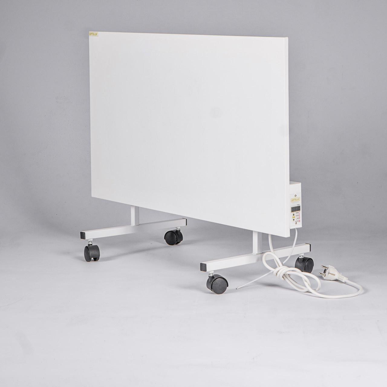 Optilux P500НВП до 12 м² Энергосберегающий металлический обогреватель с электронным терморегулятором (80х47см)
