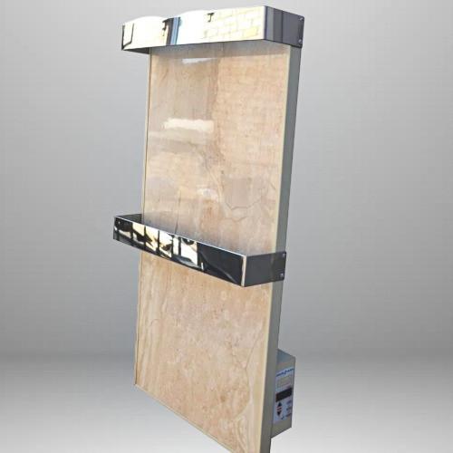 Optilux РК330НВ до 8 м² Энергосберегающий керамический обогреватель с электронным терморегуляторомм (60х30см)
