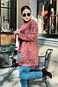 Женский стильный кардиган трапецевидного кроя из вязки, фото 6