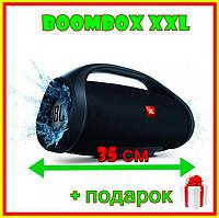 Портативная Bluetooth колонка JBL Boombox Big XXXL 35 см Акустика ЖБЛ Бумбокс большая с ручкой Черный цвет
