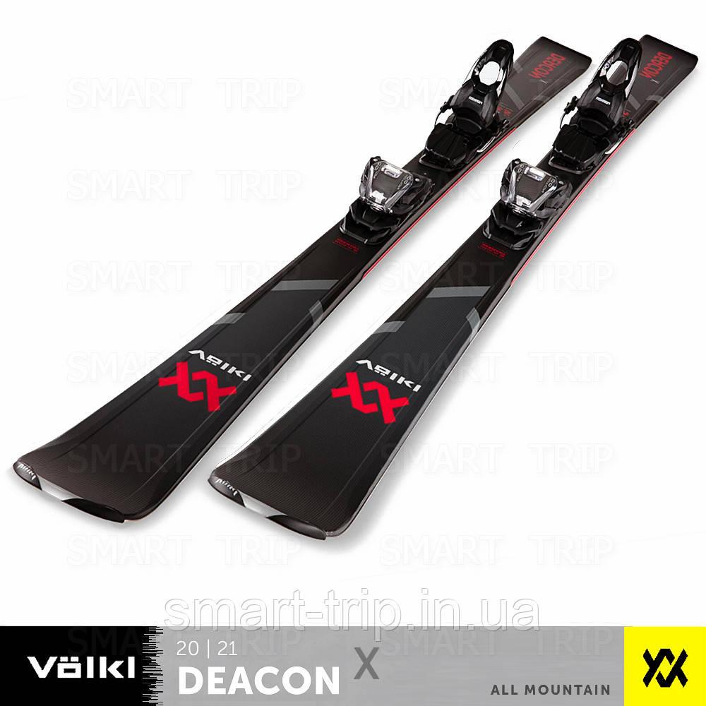 Лыжи Volkl Deacon X 172 2021 красные черные 120211-172