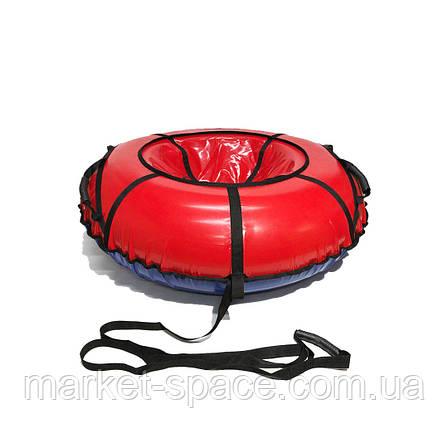Тюбинг надувные санки, ватрушка. Диаметр 80 см, фото 2