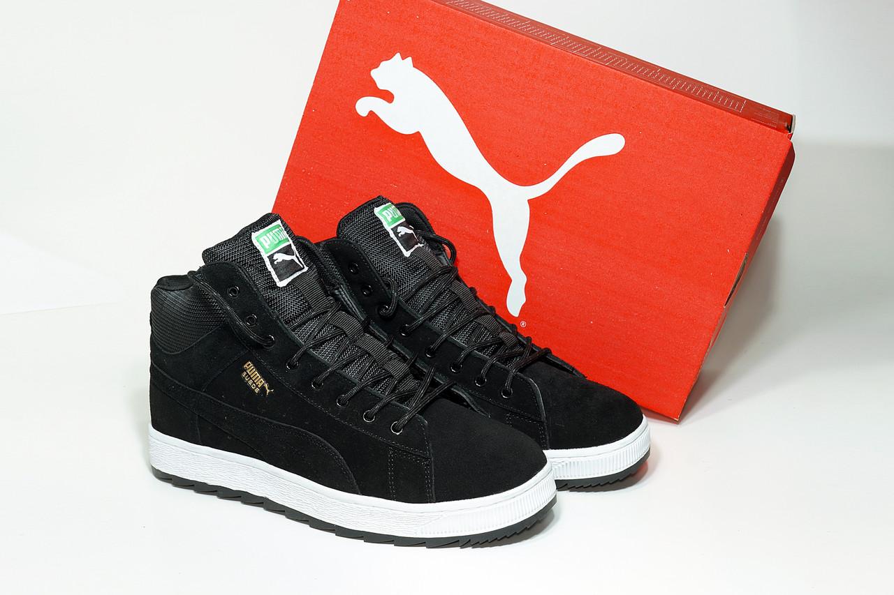 Мужские зимние кроссовки Puma Suede High