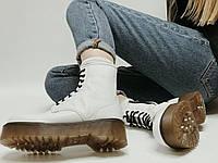 Женские ботинки Dr. Martens Jadon White (Деми). [Размеры в наличии: 36,37,38,39,40], фото 1