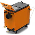 Энергонезависимый котел 40 кВт РЕТРА-6М Orange, шахтный твердотопливный котел, фото 3