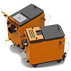 Энергонезависимый котел 40 кВт РЕТРА-6М Orange, шахтный твердотопливный котел, фото 4
