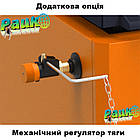 Энергонезависимый котел 40 кВт РЕТРА-6М Orange, шахтный твердотопливный котел, фото 8