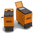 Энергонезависимый котел 40 кВт РЕТРА-6М Orange, шахтный твердотопливный котел, фото 5