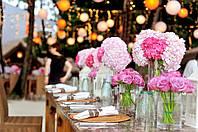 Романтика свадебной вечеринки на открытом воздухе. Выбираем декор!
