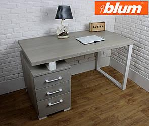 """Письмовий стіл з масиву дуба """"Еціо"""" з фурнітурою blum"""