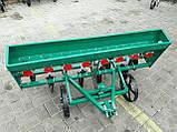 Сеялка зерновая дисковая на 8 рядов для мотоблока или мототрактора, фото 2