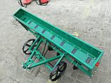 Сеялка зерновая дисковая на 8 рядов для мотоблока или мототрактора, фото 4