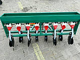 Сеялка зерновая дисковая на 8 рядов для мотоблока или мототрактора, фото 5