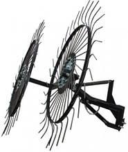 Грабли ворошилки-солнышко большие на 2 колеса (1,2м)