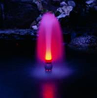 Фонтанная насадка «Свеча» с  подсветкой.
