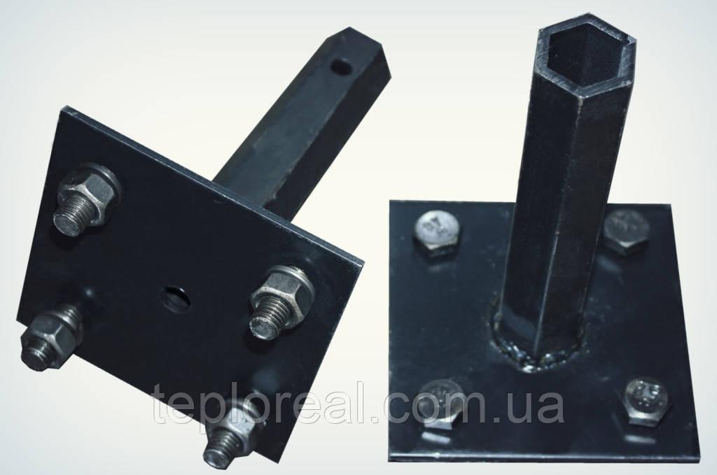 """Полуось """"Zirka 135"""" (кованная шестигранная труба, диаметр 32 мм, длина 200 мм)"""
