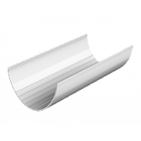 Желоб Водосточные системы Технониколь 3м, Белый ПВХ