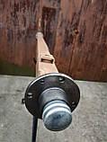Балка для прицепа квадратная, усиленная (толщина 6 мм) со ступицами шплинтованными АТВ-155 (01Р), фото 2