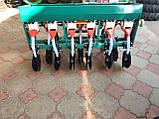 Сеялка зерновая СЗ 6-115УД дисковая на шесть рядов с бункером для удобрений на мотоблок и мототрактор., фото 2