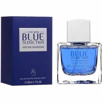 Мужская туалетная вода Antonio Banderas Blue Seduction 100 ml мужской парфюм духи Антонио Бандерас