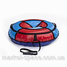 Тюбинг надувные санки, ватрушка. Диаметр 100 см, фото 3