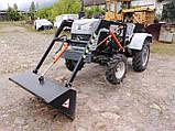Фронтальный погрузчик ФН-1 для мототрактора, фото 5