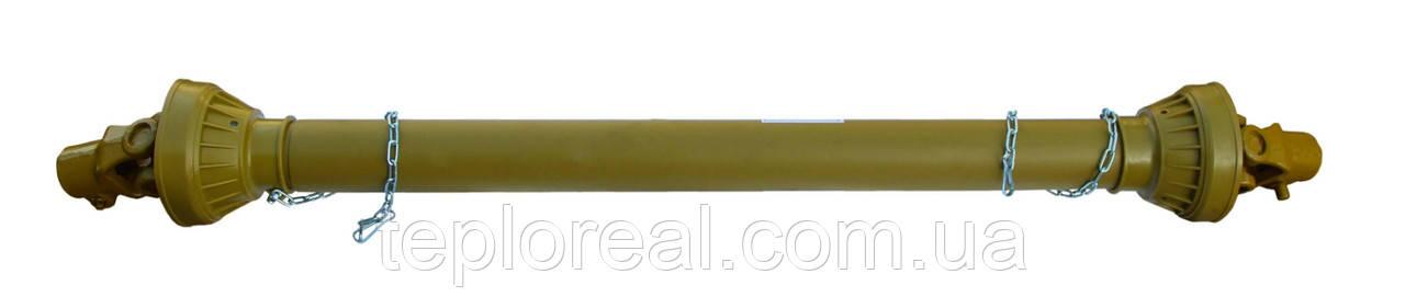 Карданный вал для подборщика, фрезы, разбрасывателя (60 см) 6*8 шлицов