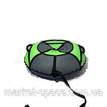 Тюбинг надувные санки, ватрушка. Диаметр 100 см. Усиленный, фото 2
