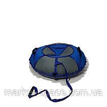 Тюбинг надувные санки, ватрушка. Диаметр 100 см. Усиленный, фото 3