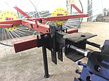 Сеноворошилка Солнышко на 3 колеса ТМ АРА (одна точка, мототрактор), фото 4