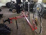 Сеноворошилка Солнышко на 3 колеса ТМ АРА (одна точка, мототрактор), фото 5