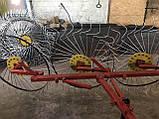 Сеноворошилка Солнышко на 3 колеса ТМ АРА (одна точка, мототрактор), фото 6