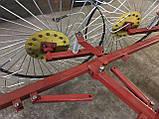 Сеноворошилка Солнышко на 3 колеса ТМ АРА (одна точка, мототрактор), фото 8
